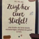 "Offline / HH: GRATIS ""Nikolausstiefel"" befüllen lassen in den BUDNI-Filialen"