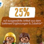 Playmobil: 25% Rabatt auf Ergänzungen und Zubehör