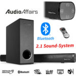 AudioAffairs SB 010 Bluetooth Soundbar mit Subwoofer