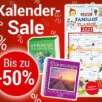 Kalender zum 1/2 Preis bei Weltbild + 15%-Gutschein + versandkostenfrei ab 29€