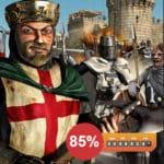 Steam: Stronghold Crusader HD für 1,20€ (statt 7€) / Stronghold HD für 0,75€ (statt 3€)