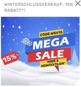 Neckermann: 15% + gratis Versand 📦🛍