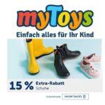 MyToys: 15% Rabatt auf Kinderschuhe!