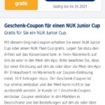 NUK Junior Cup oder Flexi Cup