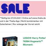 Thalia.de: LEGO-Sale - so lange der Vorrat reicht