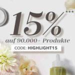 15% auf über 90.000 Produkte in der Douglas-App