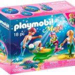 Playmobil Magic Familie mit Muschelkinderwagenfür (VSK-frei mit Amazon Prime)