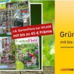 Deutsche Post Leserservice: Gartenzeitschriften als Prämienabo aktuell günstig ab 4,60€ für ein Jahr (54,60€ – 5€ Gutschein – bis zu 45€ Prämie)