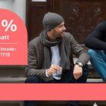 Tchibo 15% Rabatt auf coole Looks für kalte Tage wie z. B. Wintermode, Wäsche und Accessoires für echte Kerle