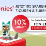 🐱🏍10% Rabatt auf alle Tonie-Figuren und Zubehör bei Hugendubel