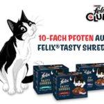 Felix Club Aktion: 10-fach Punkte auf Tasty Shreds - Prämien dadurch extrem günstig bekommen