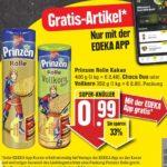 """GRATIS """"1 Prinzenrolle Kakao 400 gr.,  Choco Duo oder Vollkorn 352 gr."""" bei Edeka-Südwest mit der Edeka Genuss+ App vom 12.04.-17.04.21 ab 5€ Einkauf"""