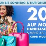 20% Rabatt auf Kleidung, Wäsche, Schuhe, uvm. bei Galeria