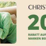 20% Rabatt bei CHRIST - GASAG Vorteilswelt