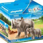 PLAYMOBIL 70357 Nashorn mit Baby für nur 7,79€ bei Amazon