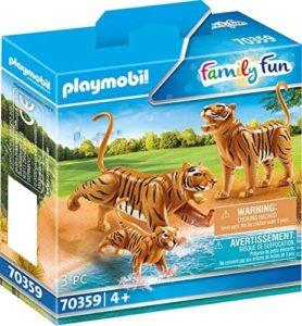 PLAYMOBIL 70359 - 2 Tiger mit Baby - bei Amazon für 10,99€ (anstatt ~13€)