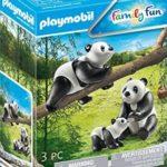 PLAYMOBIL 70353 - 2 Pandas mit Baby bei Amazon für 5,99€ (statt  8,28€)