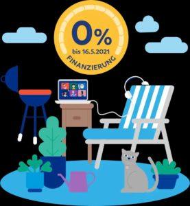 GRATIS 0%-Finanzierung mit PayPal von 99€ - 5.000€ bis 16.05.21