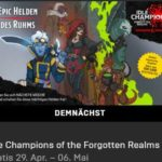 "Vorankündigung Gratis Spiel ""Idle Champions of the Forgotten Realms"" im Epic-Games-Store ab 29.04."