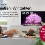 Bis 180 Monate GEZ *Rundfunkbeitrag sparen* mit LG-Cashback