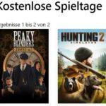 "GRATIS 2 Spiele ""Hunting Simulator 2"" + ""Peaky Blinders: Mastermind"" kostenlos spielen"