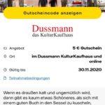 Vattenfall Kunden: 5€ Gutschein ohne Mindesteinkaufswert im Dussmann Kulturkaufhaus & online