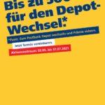 Depotwechsel ab 5k Übertrag 1-2% Prämie (max. 500 Euro Prämie) / 3 Monate Haltefrist (nur offline)