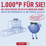 1.000 Payback-Punkte bei Real bei Einkauf ab 100€