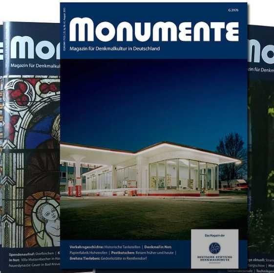 1 ausgabe kostenlos monumente magazin fuer denkmalkultur in deutschland
