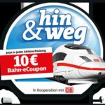 10 € Bahn-eCoupon bei duplo CHOCNUT