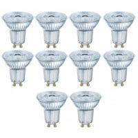 10x osram led lampe 230v gu10 dimmbar