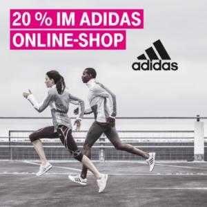 Telekom-Kunden: 20% Gutschein auf den adidas Online-Shop - MyTopDeals