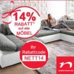 14% Rabatt bei Neckermann auf  alle Möbel