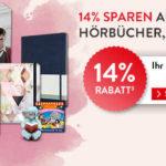 14% Valentinstag-Rabatt auf Spielwaren, Filme, Musik, Hörbücher, Schreibwaren & mehr