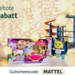 15% auf alle Mattel Artikel (Barbie, Hotwheels, Fisher Price usw.)