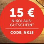 15€ ab 40€ Warenwert bei Klingel - Weihnachtsdeko günstiger