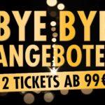 2 Musical-Tickets ab 99€ in Hamburg, Berlin, Stuttgart und Oberhausen