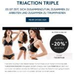 20% ab dem Kauf von 3 Teilen bei Triumph (online+im Laden)