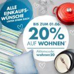 20% auf Wohnen bei Galeria-Karstadt-Kaufhof