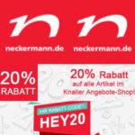 20 % Rabatt auf Knaller Angebote bei Neckermann