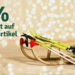 20% auf Wintermode, Schuhe, Wintersportartikel