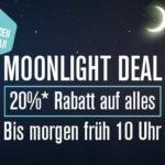 20% Rabatt bis 10:00 Uhr früh im Moonlight Deal bei NU3