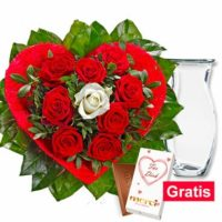 20 rabatt zum valentinstag auf alles bei flora prima gratis vase und schokolade