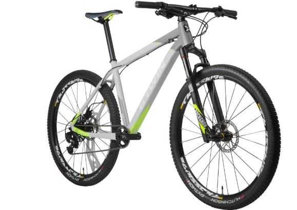 2018 08 10 15 05 13 XC Mountainbike 27 5 Rockrider 920 Alu hellgrau neongelb   Decathlon Deutschlan