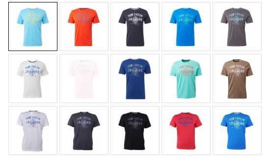 2019 06 19 15 53 25 Tom Tailor Herren T Shirt mit Logo Print kaufen   JEANS DIRECT.DE
