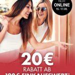 20€ Rabatt im Onlineshop von Kaufhof ab 120€ Einkauf