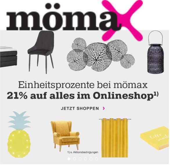 Mömax Nürnberg Online Shop : m max 21 rabatt im onlineshop zum tag der deutschen einheit mytopdeals ~ Orissabook.com Haus und Dekorationen