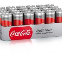 24 x 330 ml dose coca cola light bei amazon prime
