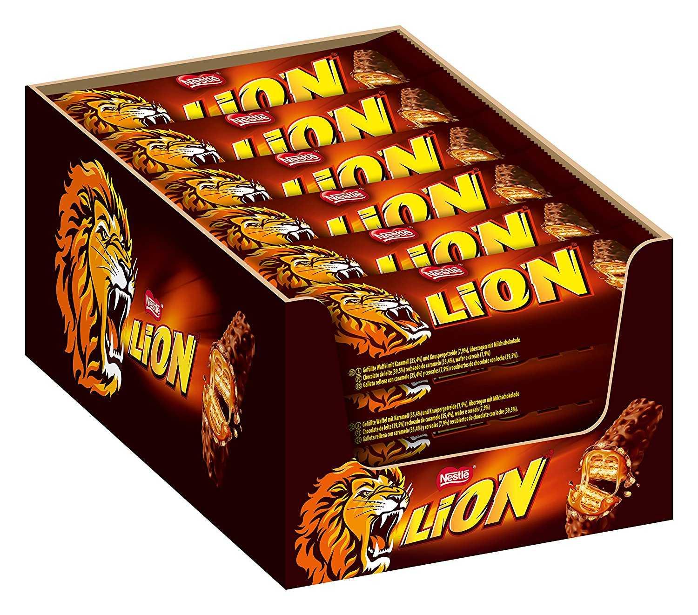 24er pack nestle lion schoko riegel bei amazon prime 1