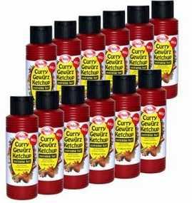 24x hela curry gewuerz ketchup chili 300 ml fuer 888 e